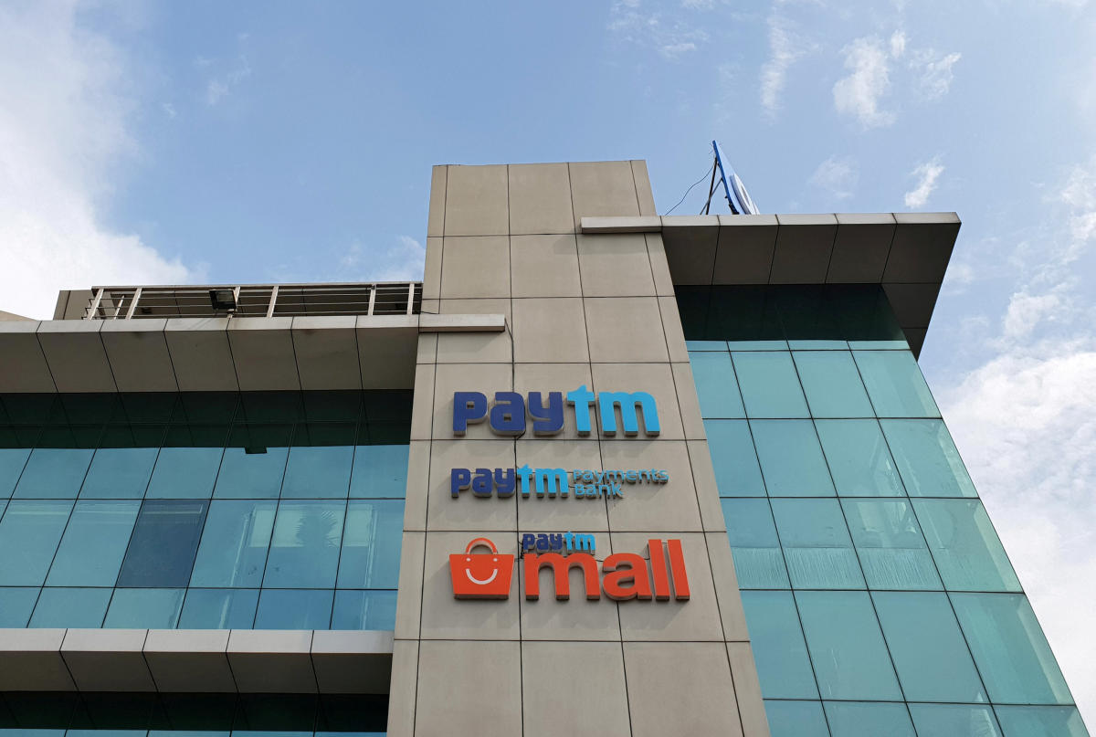 The headquarters for Paytm, India's leading digital payments firm, is pictured in Noida, India, August 29, 2018. REUTERS/Sankalp Phartiyal/File Photo