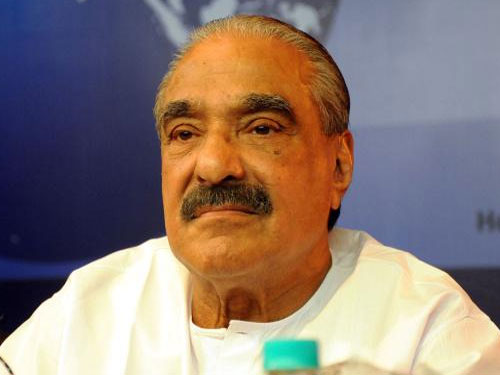 Kerala Congress (M) chief and former finance minister K M Mani. Image courtesy Twitter