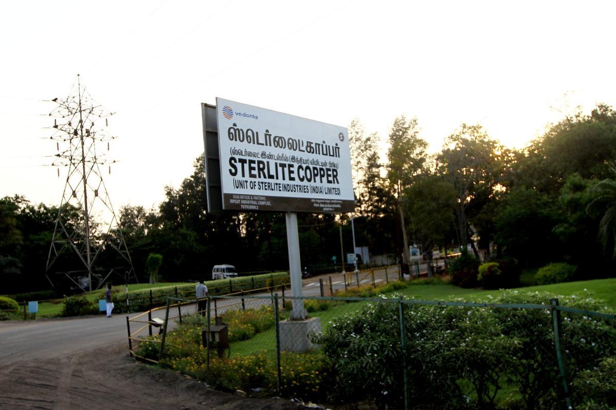 File photo: Vedanta's Sterlite Copper unit ,in Tuticorin on Thursday. PTI Photo