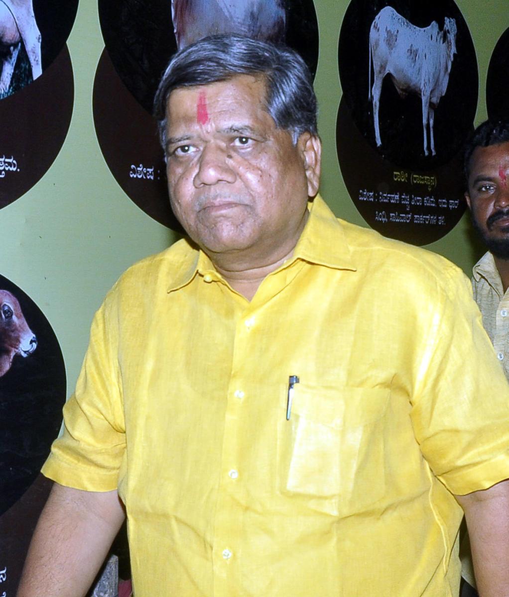 Former chief minister Jagadish Shettar. DH file photo.
