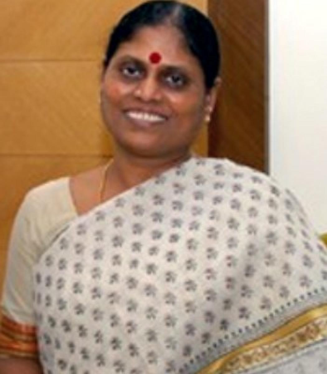YS Vijayamma, YSR Congress honorary president and mother of YS Jaganmohan Reddy. File photo