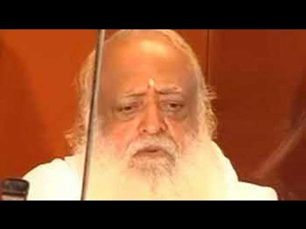 Bharti also claimed ignorance about Asaram's future legal actions, after Jodhpur court pronounced him guilty in the rape of a minor and sentenced him to life imprisonment. DH File Photo