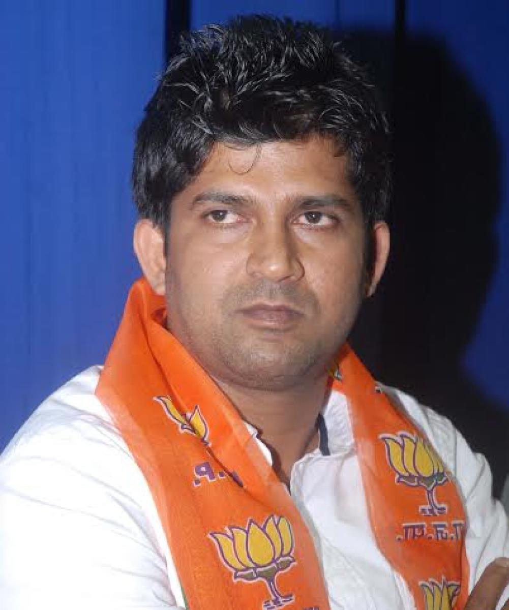Mysuru MP Pratap Simha. DH file photo.