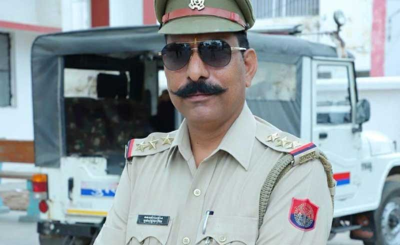 Inspector Subodh Kumar Singh who died during the attack
