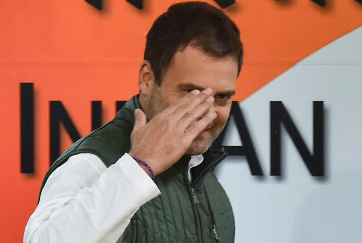 Rahul accused Modi of instead posing for cameras and strutting on the Bogibeel bridge on the mighty Brahmaputra river in neighbouring Assam after inaugurating it on Tuesday. (PTI File Photo)