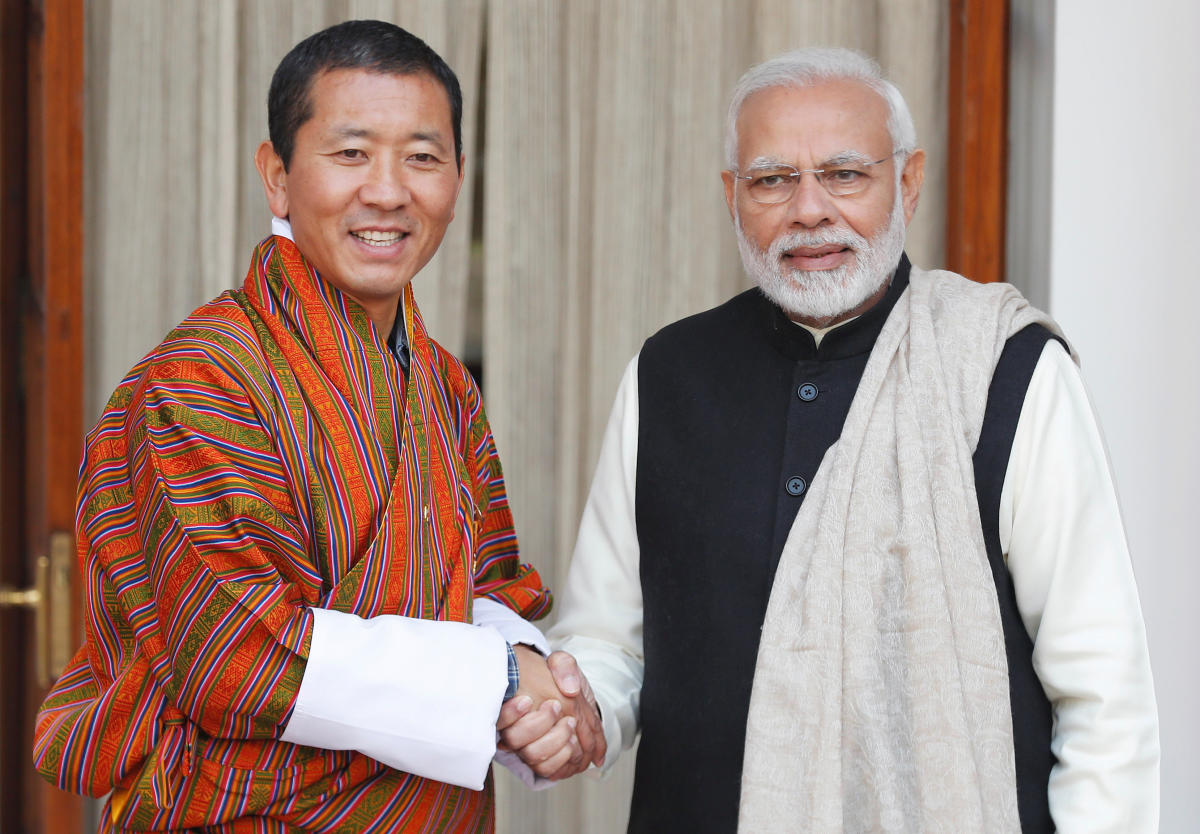 """Prime Minister Narendra Modi on Friday said that the construction of the ISRO's """"ground station"""" in Bhutan would be completed soon. (Reuters Photo)"""