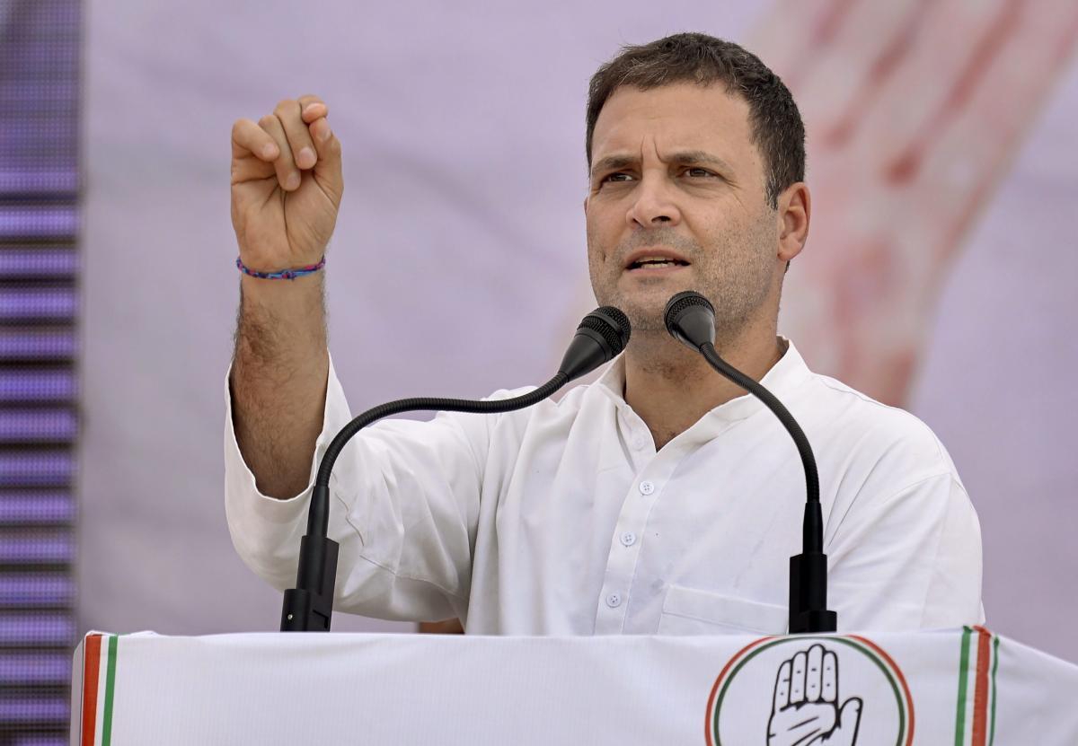 Congress President Rahul Gandhi.(PTI file photo)