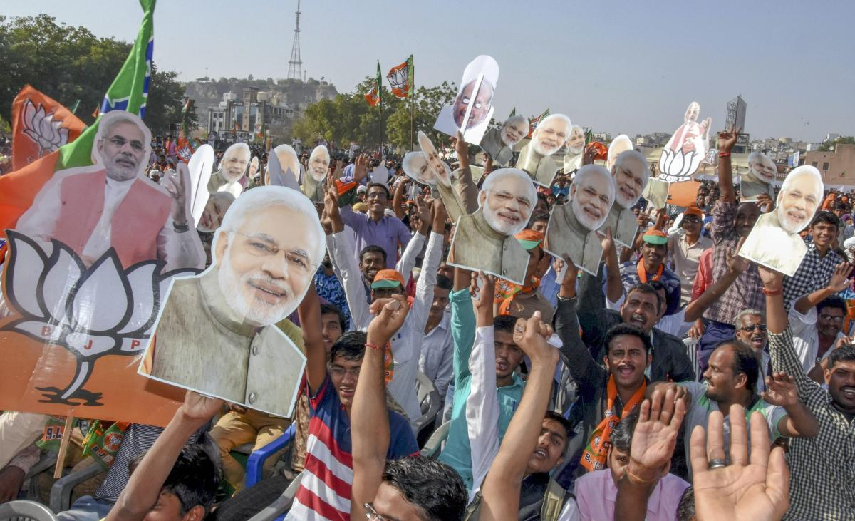 The NDA is poised to get 291 seats if Lok Sabha elections are held now in case the SP and the BSP do not join hands. But if a grand alliance happens in Uttar Pradesh, the BJP-led coalition's numbers will come down to 247, which is 25 short of majority mar