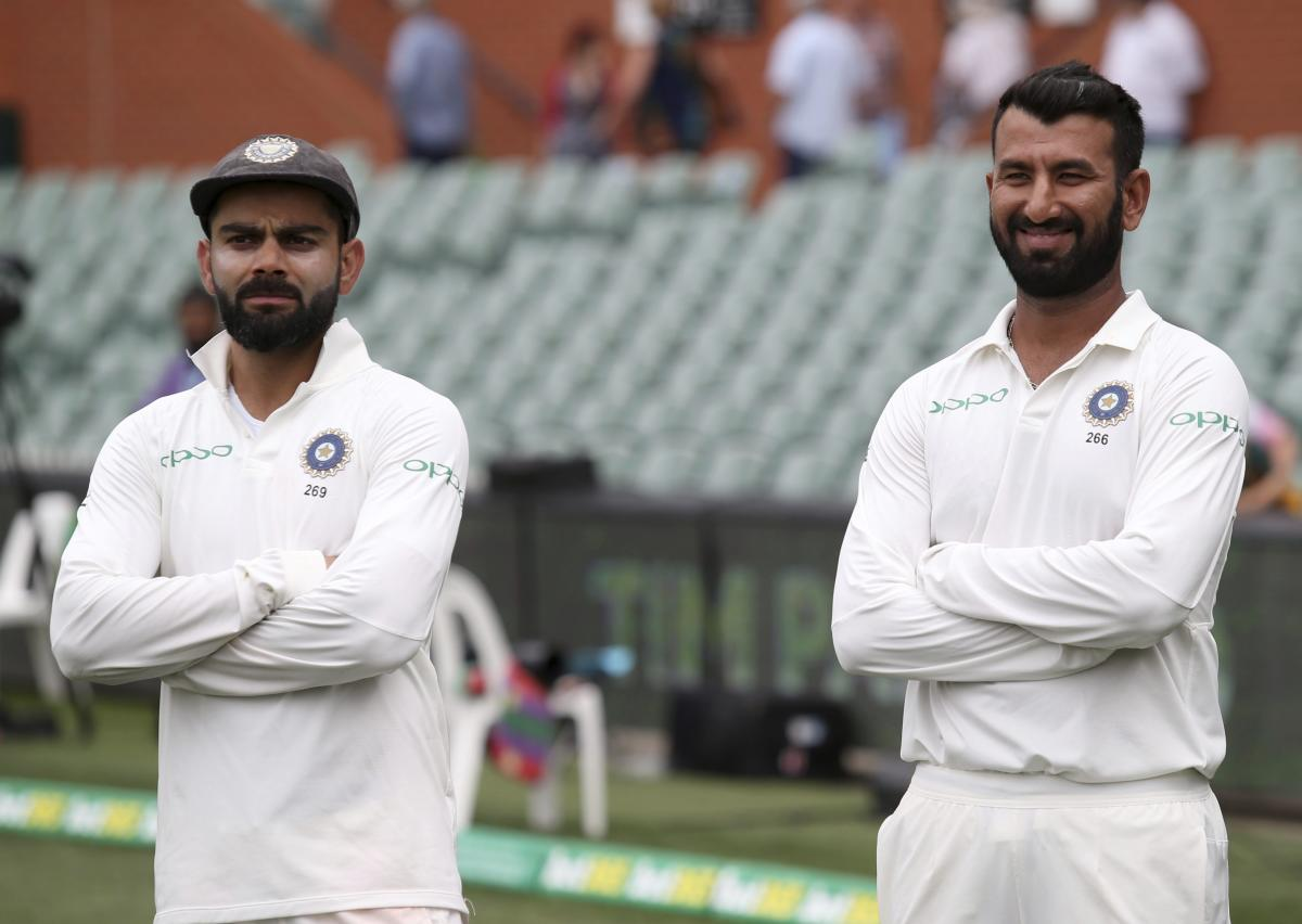 """""""At this stage, the difference in the series is Pujara and Kohli, if we're frank. Pujara averages 53 and Kohli has averaged 46 and got a duck in the second innings. The lesson we learn from that is he just absorbed all our pressure,"""" Langer said Monday. ("""
