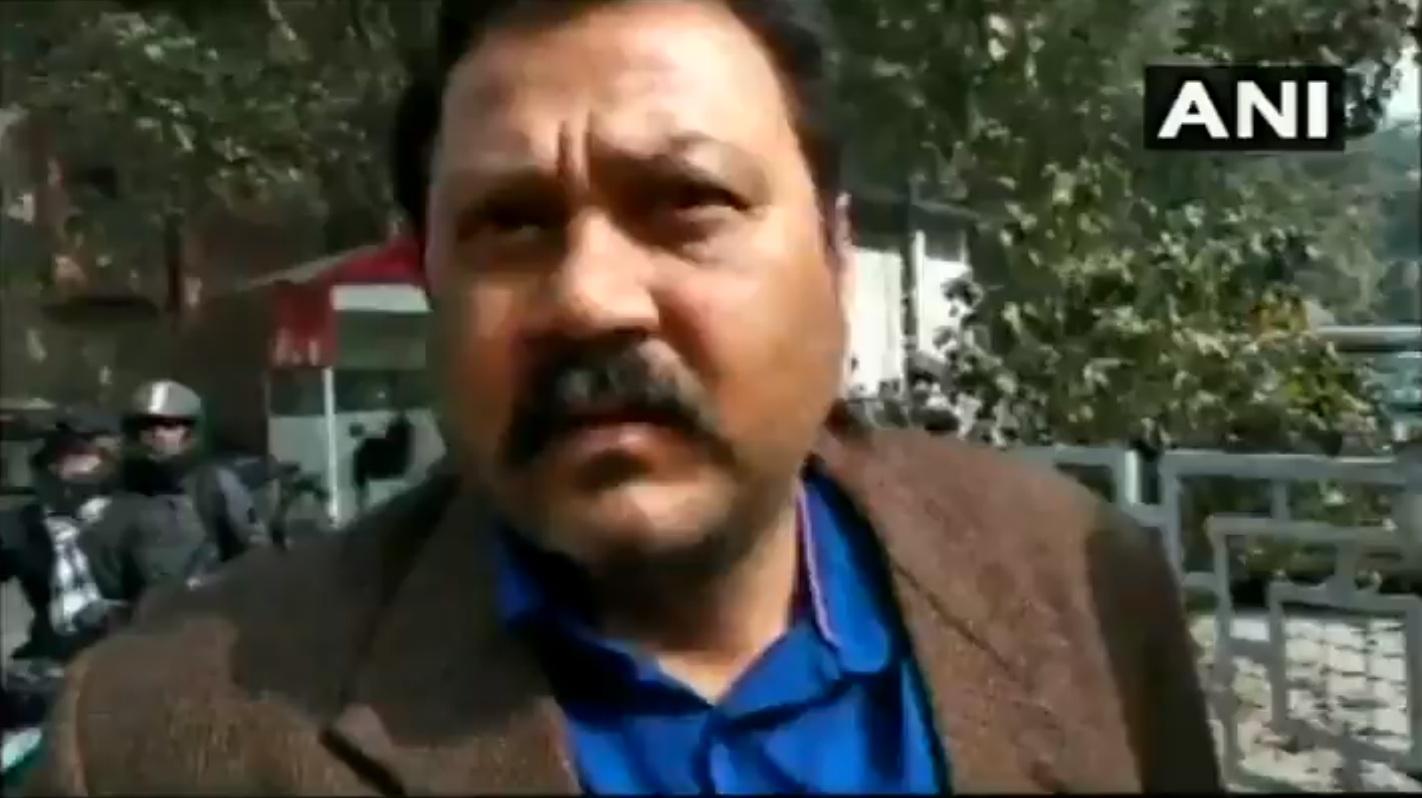 Raju Singh. (Image courtesy ANI/Twitter)