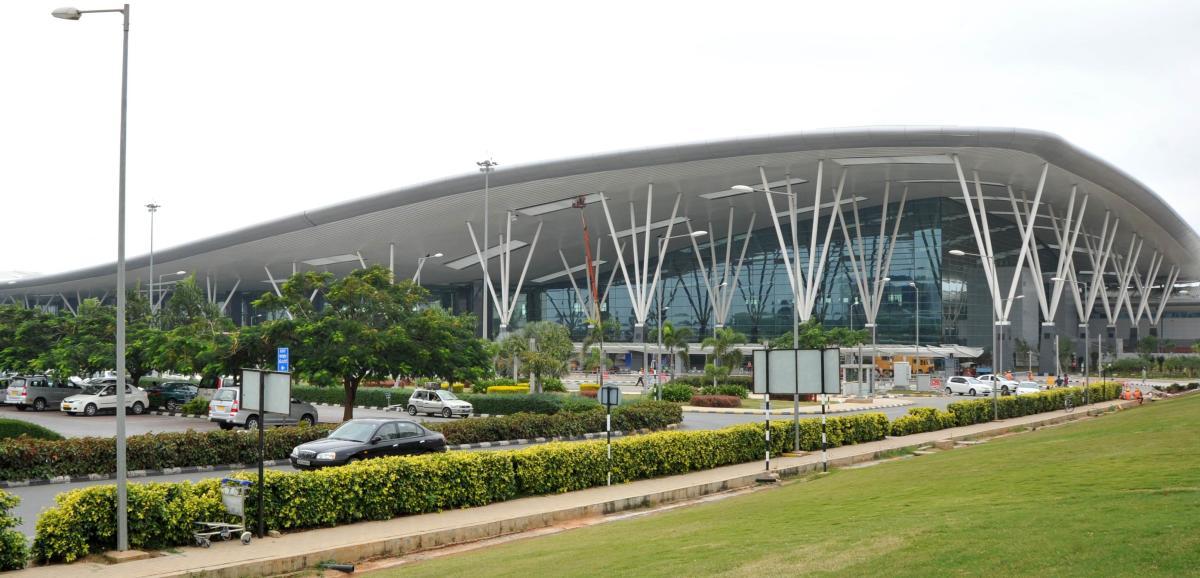 The Kempegowda International Airport.