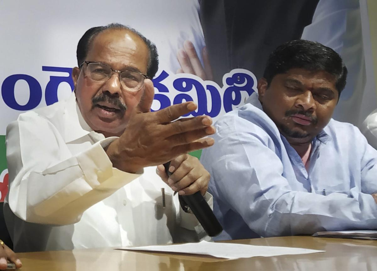 The 31-member panel is headed by senior Congress leader M Veerappa Moily. PTI file photo