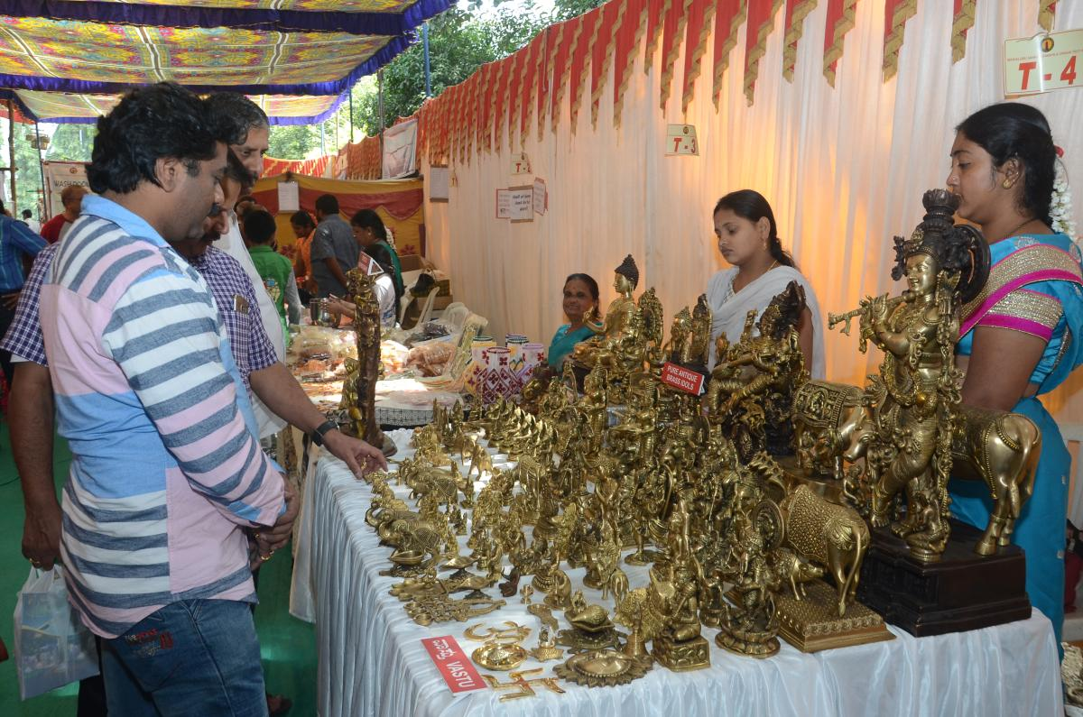 Sankethi Utsav will have stalls selling pottery, saris and more.