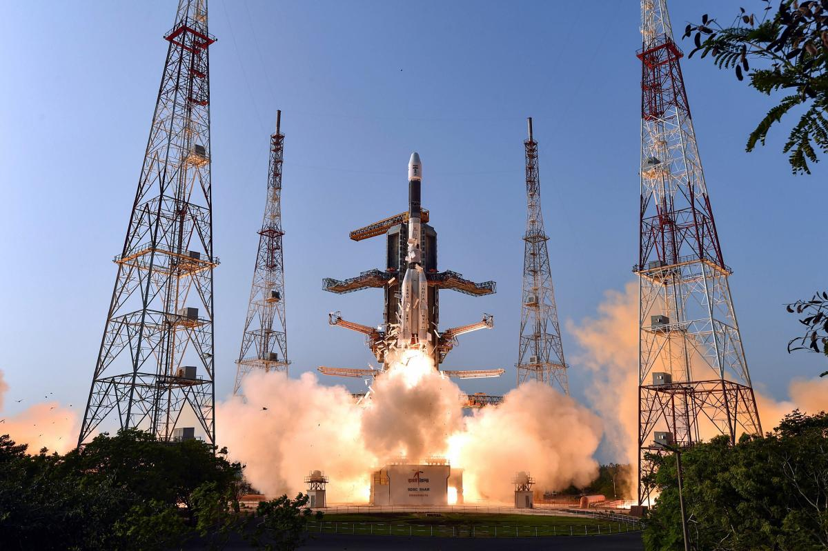 Indian Space Research Organisation's (ISRO) communication Satellite GSAT-7A, on board the GSLV-F11, takes off during its launch in Sriharikota, Wednesday, Dec. 19, 2018. PTI file photo