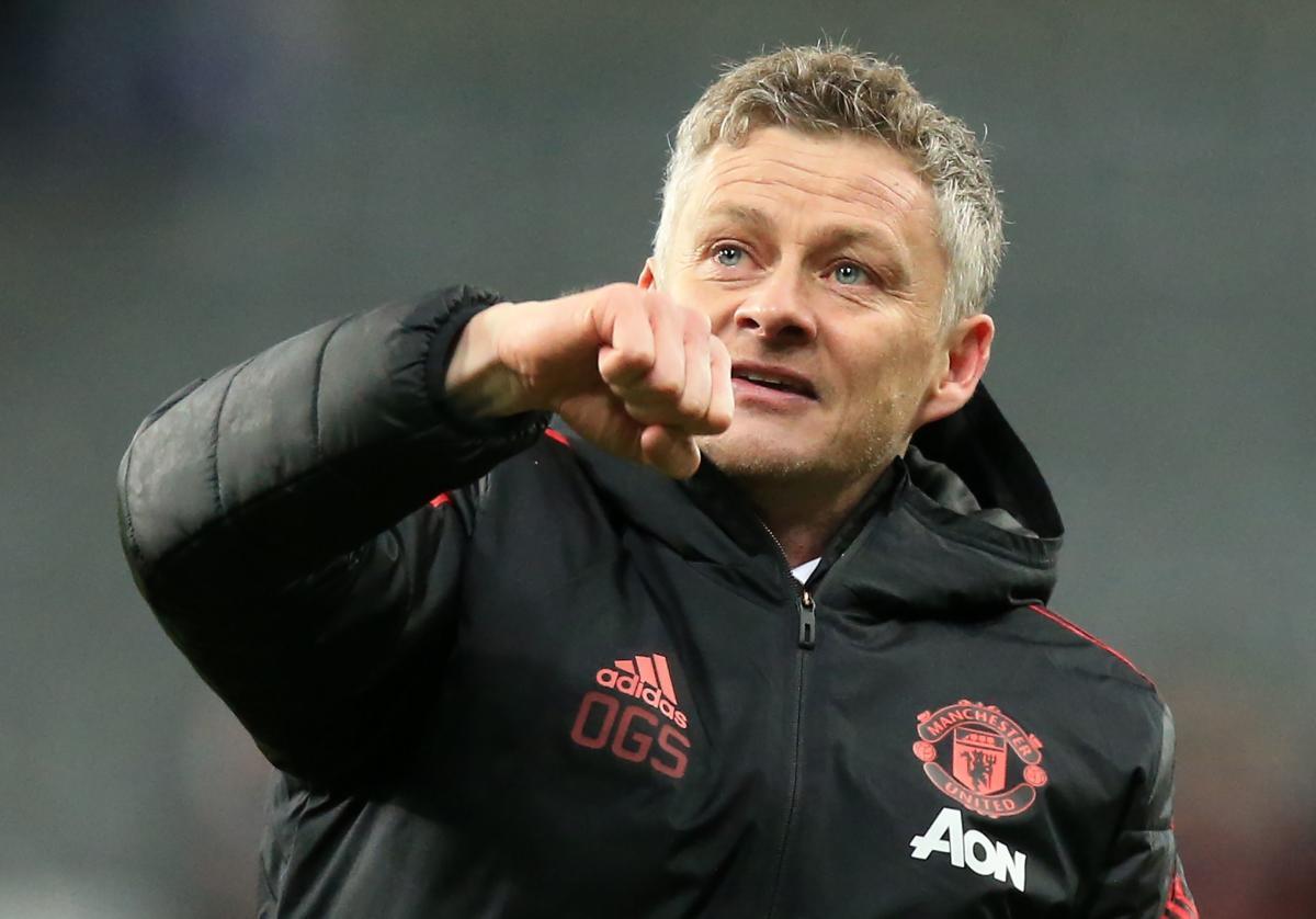 Manchester United's caretaker manager Ole Gunnar Solskjaer. AFP File Photo
