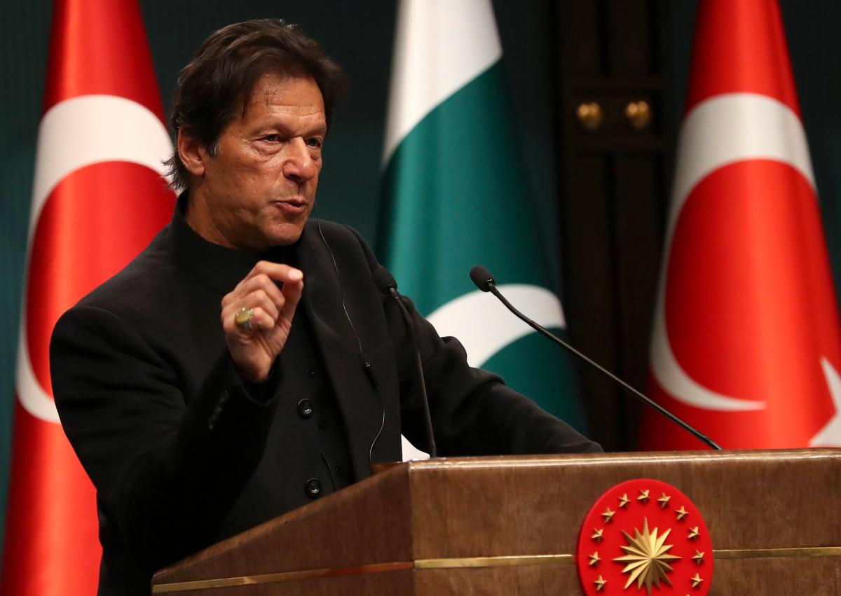 Pakistani Prime Minister Imran Khan (AFP FIle Photo)
