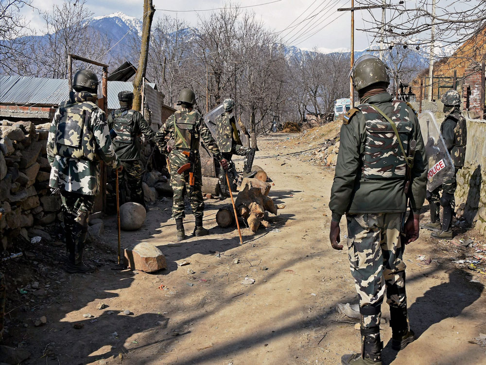 The incident took place late on Saturday night and the slain jawan has been identified as Mukesh Bhawuk, a police official said.