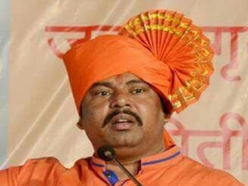 Telangana BJP MLA T Raja Singh. (Image courtesy Twitter)