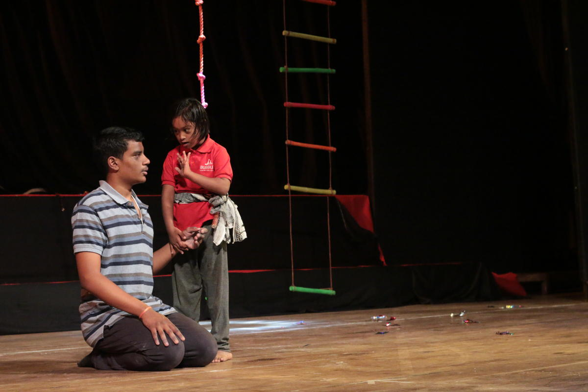 Jungle Book play performed by children with autism.