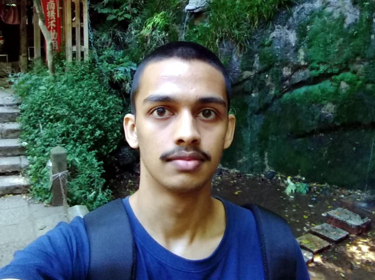 Niranjan Prasad is one among the 11 toppers and only from Karnataka to score an overall 100 percentile in the CAT conducted by IIM-Calcutta in November. (Image courtesy Prajavani)