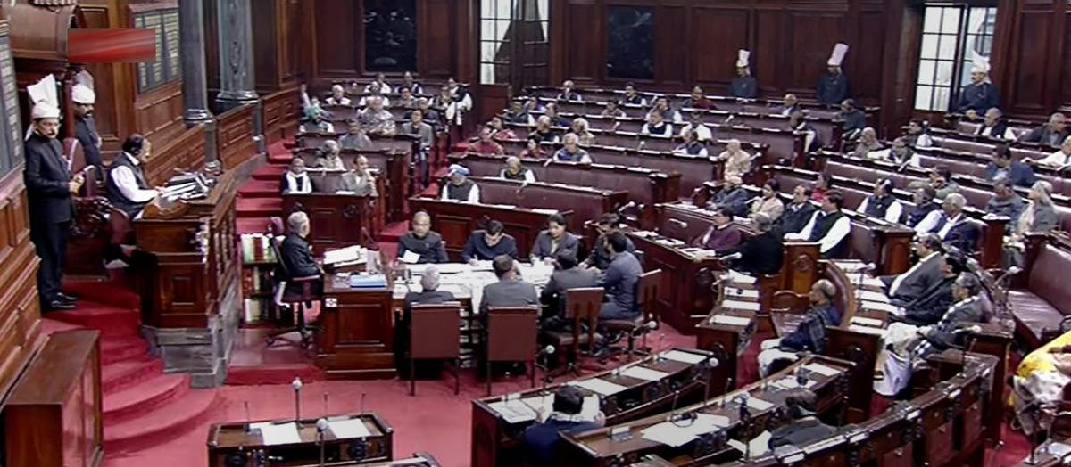 Rajya Sabha proceedings were adjourned till 2 pm on Monday after an uproar by opposition parties over various issues, including a CBI probe against Samajwadi Party president Akhilesh Yadav on alleged illegal mining. PTI file photo