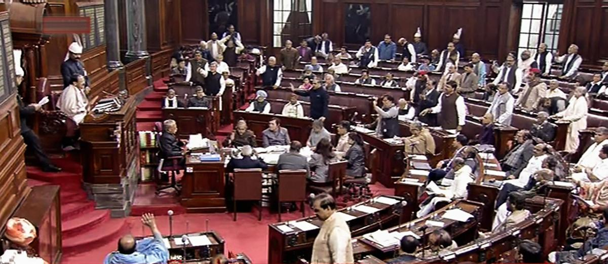 Rajya Sabha chairman M Venkaiah Naidu has agreed to the government's request and extended the proceedings by a day, the sources added. (PTI Photo)