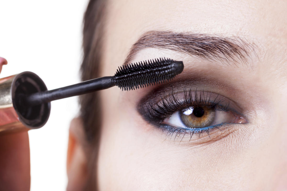 Brushing your lashes twice a day with a clean, mascara-free wand helps stimulate growth and promote healthy lashes.