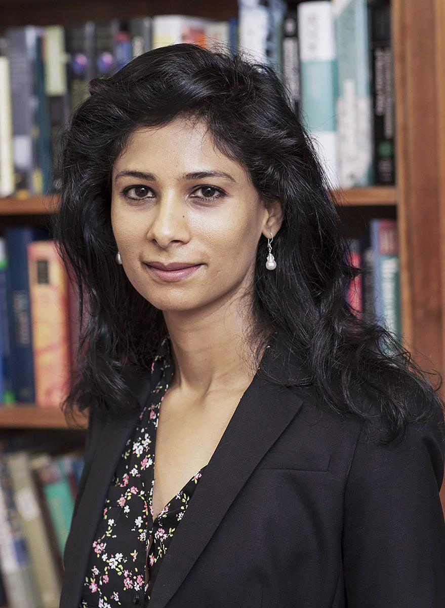 India-born economist Gita Gopinath. PTI file photo