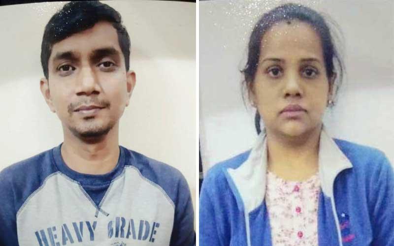Sandeep Gururaj and Charusmita P N