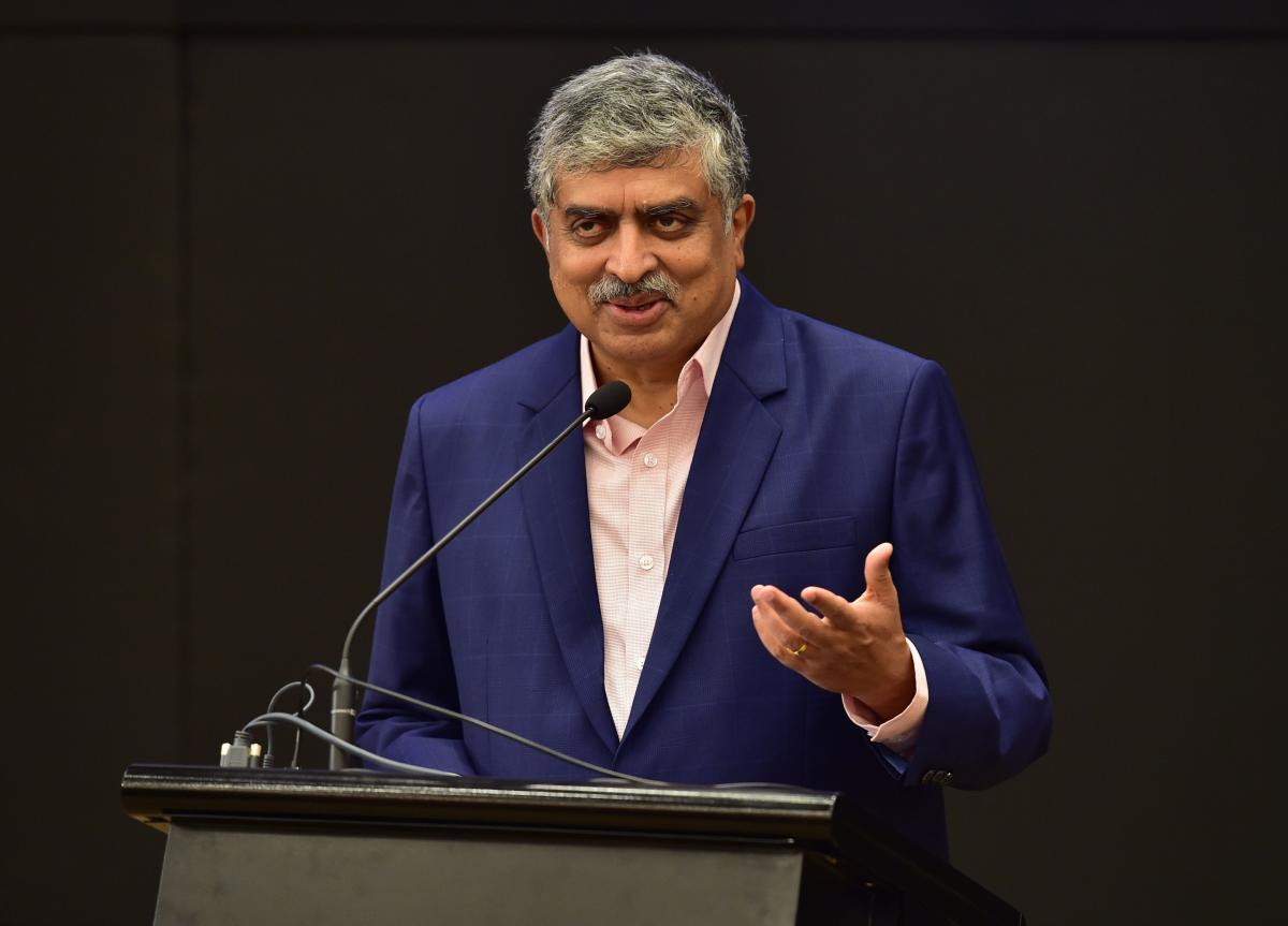 Infosys Chairman, Nandan Nilekani has been appointed as the chairman of the Reserve Bank of India's committee on enhancing digital payments. AFP Photo