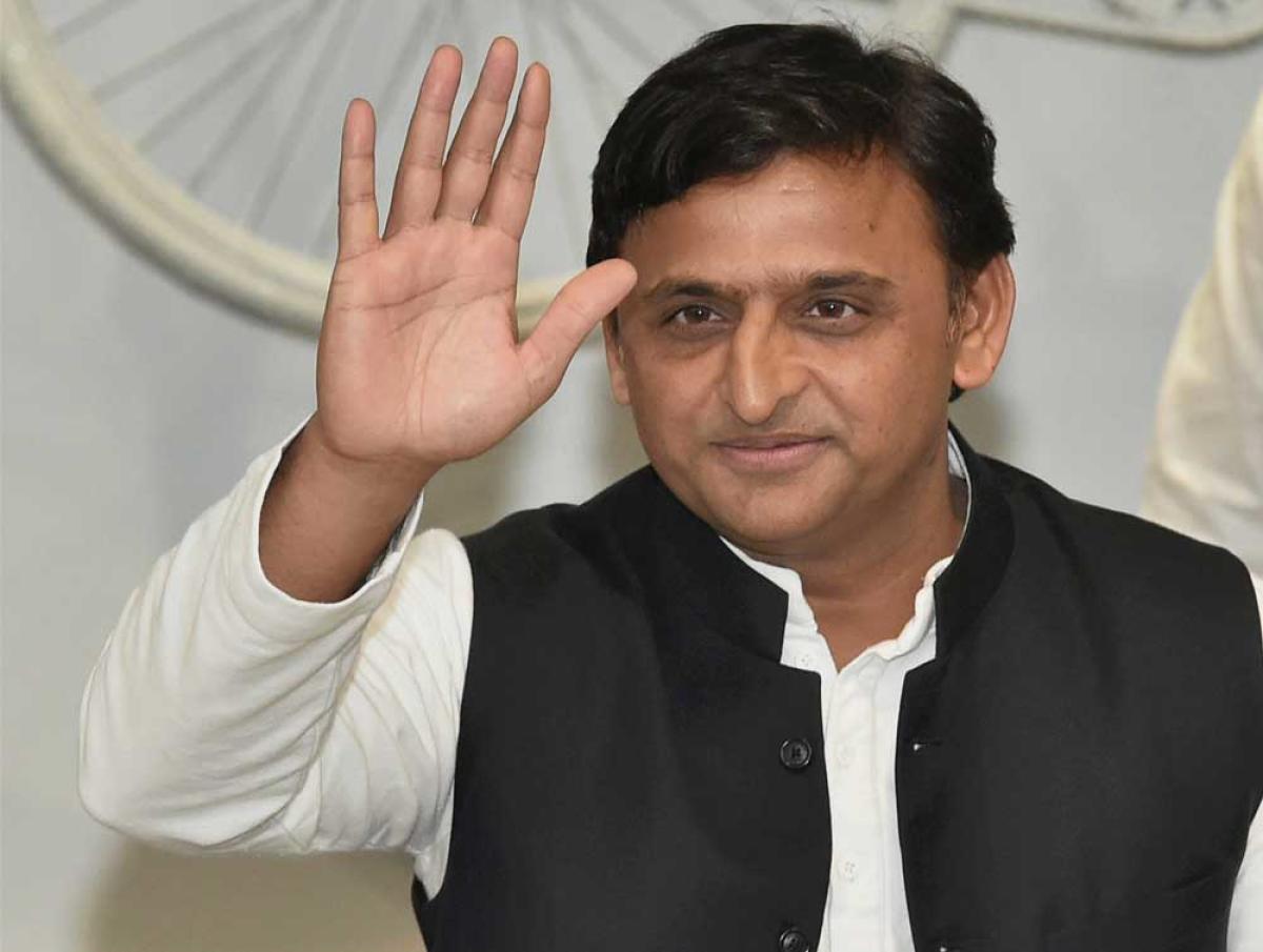 Samajwadi Party chief Akhilesh Yadav. PTI Photo