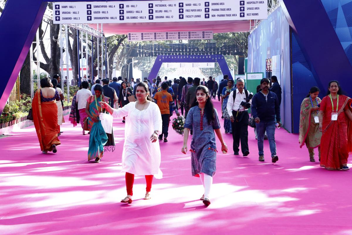 The 62nd All India Congress of Obstetrics and Gynaecology, a five-day conference, opened at Gayatri Vihar, Palace Grounds, on Tuesday. It is on till January 12.