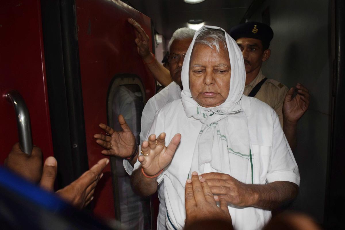 Former Bihar Chief Minister and RJD Supremo Lalu Prasad Yadav. PTI File Photo