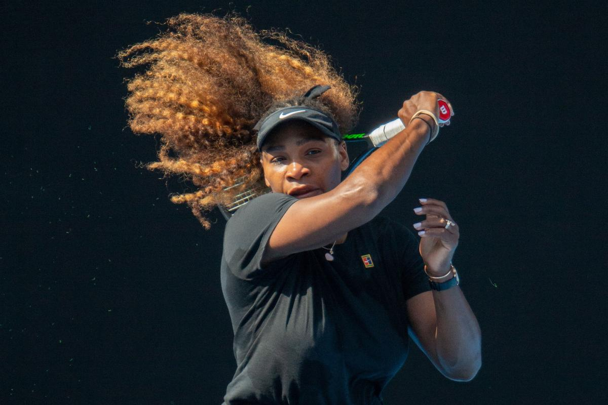TOUGH ROAD: Serena Williams of the US will be aiming for a record-equalling 24th Grand Slam title when the Australian Open begins from January 14. AFP