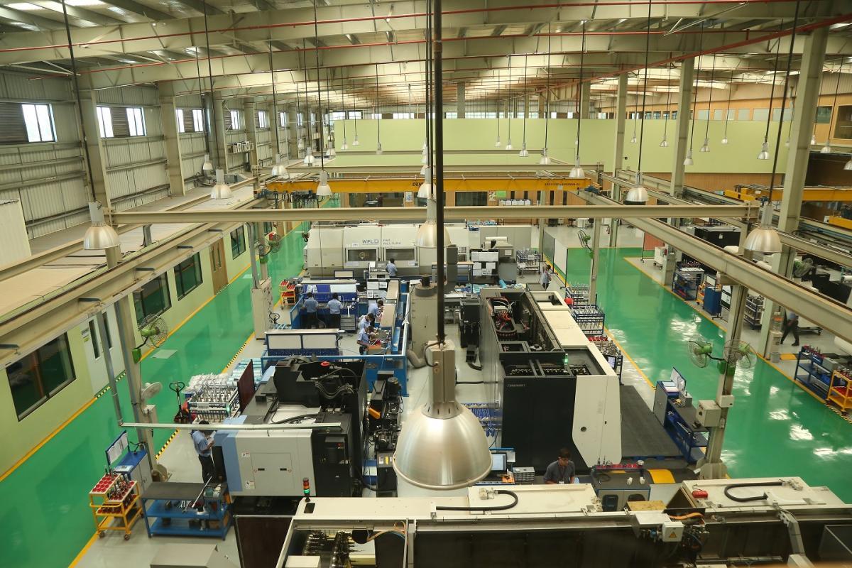 Wipro Infrastructure Engineering's (WIN) aerospace plant in Bengaluru.