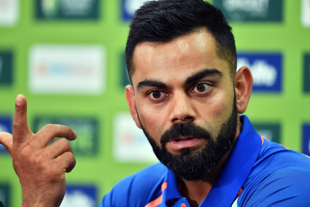 """Captain Virat Kohli on Friday said the Indian team doesn't stand by Hardik Pandya and K L Rahul for making """"inappropriate"""" comments on women during a TV show but insisted that the controversy won't affect the dressing room morale. AFP photo"""