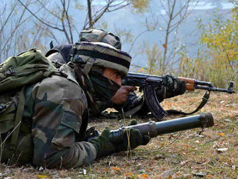 Sources said security forces cordoned off Katapora area of Yaripora, 65 km from here, after specific inputs about the presence of two to three militants, including Zeenatul, in the area. ANI file photo