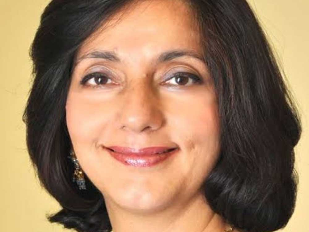 Banker-turned-politician Meera Sanyal died on Friday after a brief illness. ( Image courtesy Twitter)