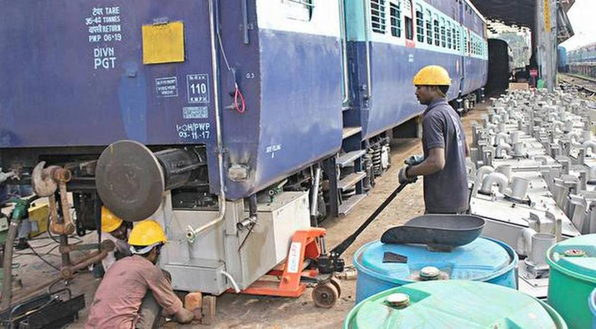 """""""A week ago, a review meeting was held in Guwahati, where it was decided that all long distance trains shall be replaced with LHB modern coaches,"""" Railway Minister Piyush Goyal informed the Rajya Sabha. Representative image."""