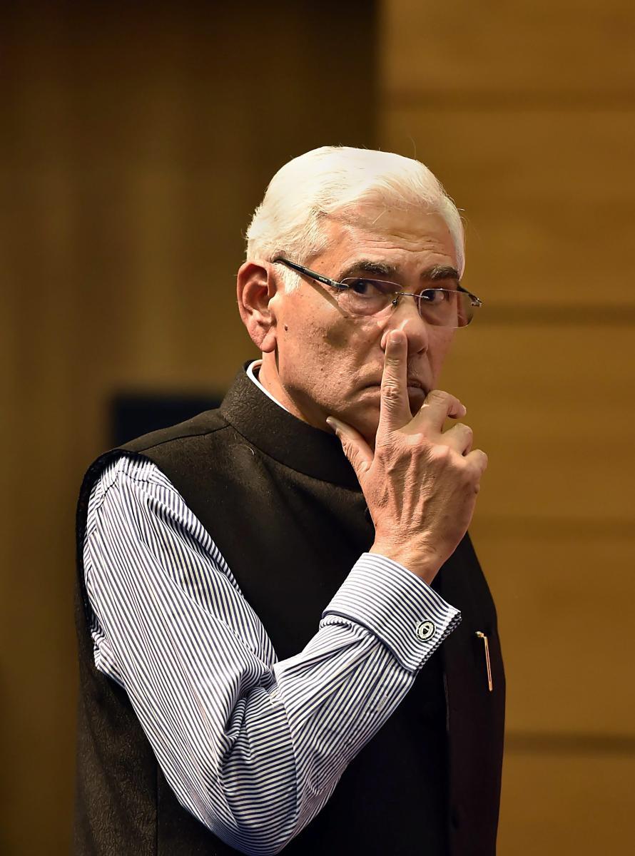 CoA chief Vinod Rai. PTI File Photo