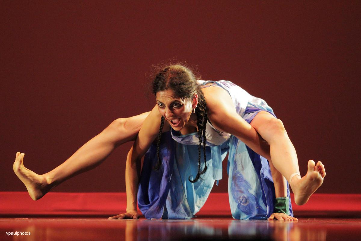 Sharp Dance scholar-choreographer Ananya Chatterjea.