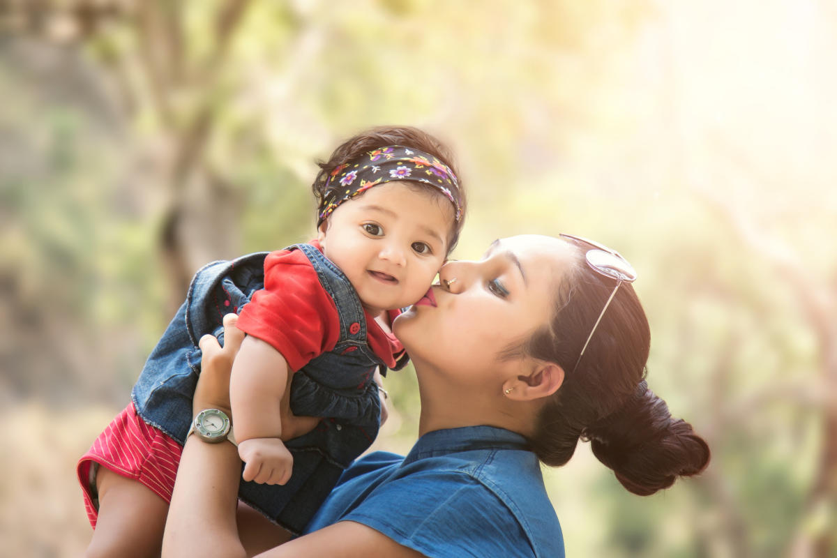 A mother's weight can directly influence a child's BMI in adolescence.