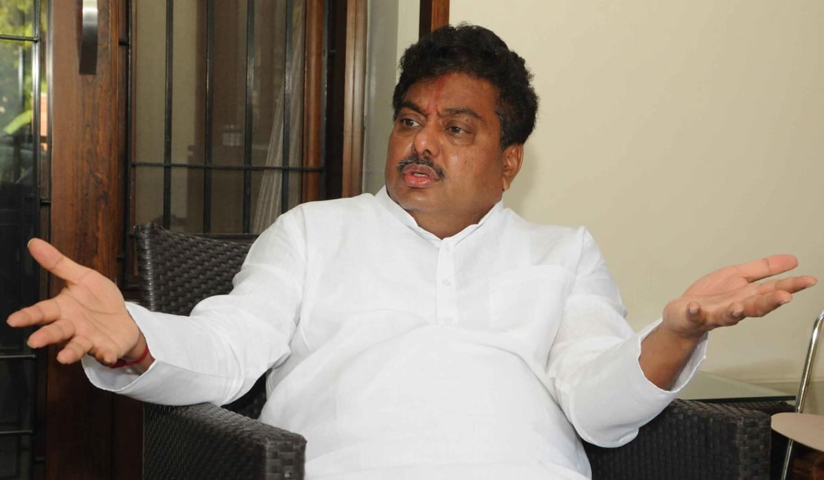 """""""This is completely a baseless allegation. The rallies, conventions and the entire movement was organised through the donations of the followers,"""" Patil said. (DH file photo)"""