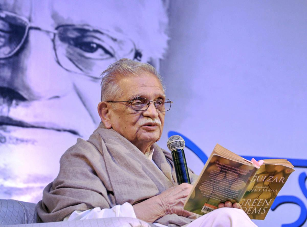 Renowned lyricist, poet and film maker Gulzar. (PTI File Photo)