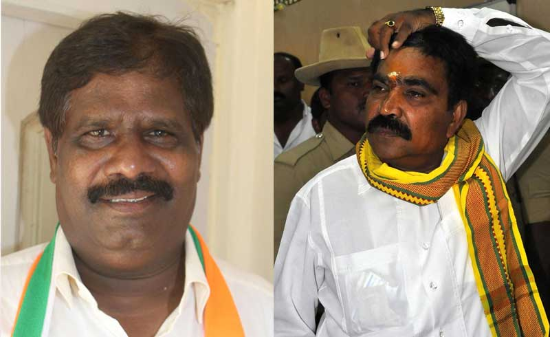 Independent H Nagesh, who represents the Mulbagal constituency and Karnataka Prajnavantha Janata Paksha's Ranebennur legislator R Shankar, a former minister in the HD Kumaraswamy Cabinet, have written to Governor Vajubhai R Vala about their decision to withdraw support to the Congress-JD(S) coalition.