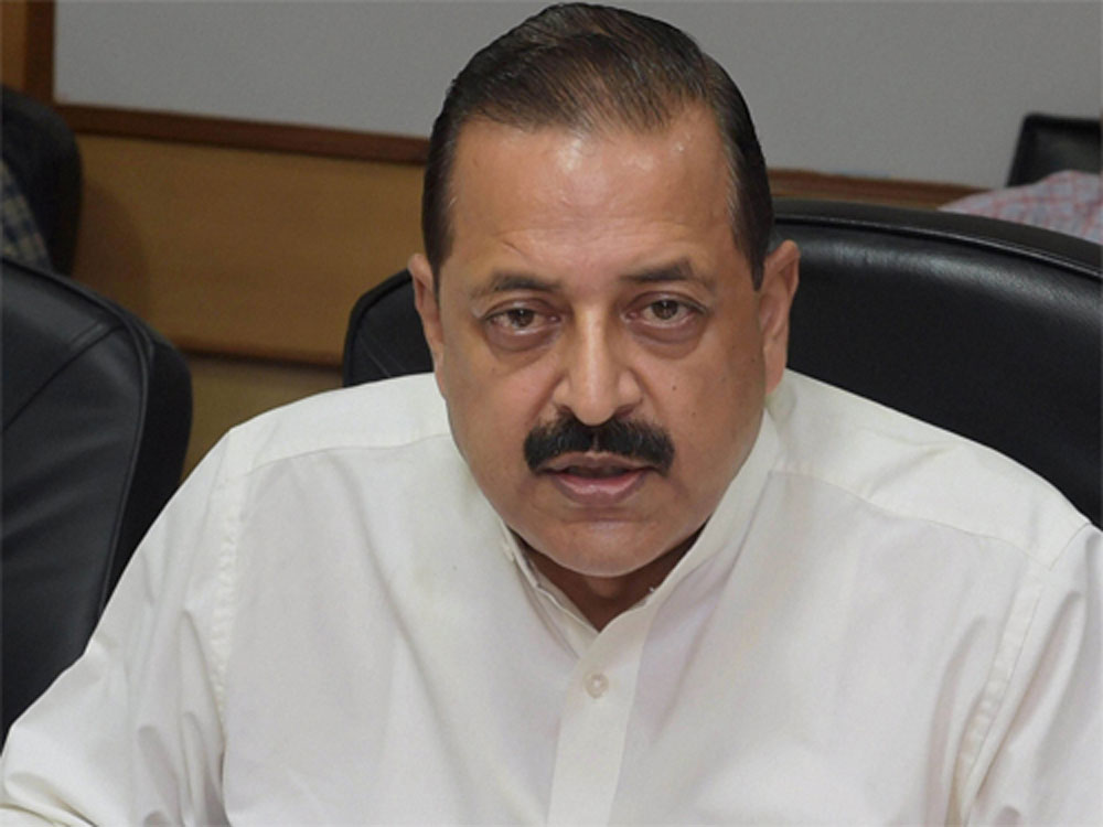 Union Minister of State for Space Department, Jitendra Singh.PTI file photo
