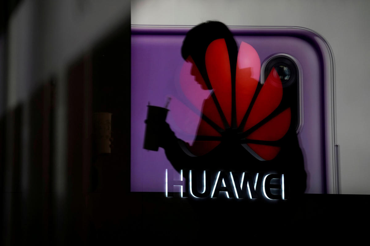 The Justice Department declined to comment on the report and Huawei did not respond to a request for comment. Reuters file photo.