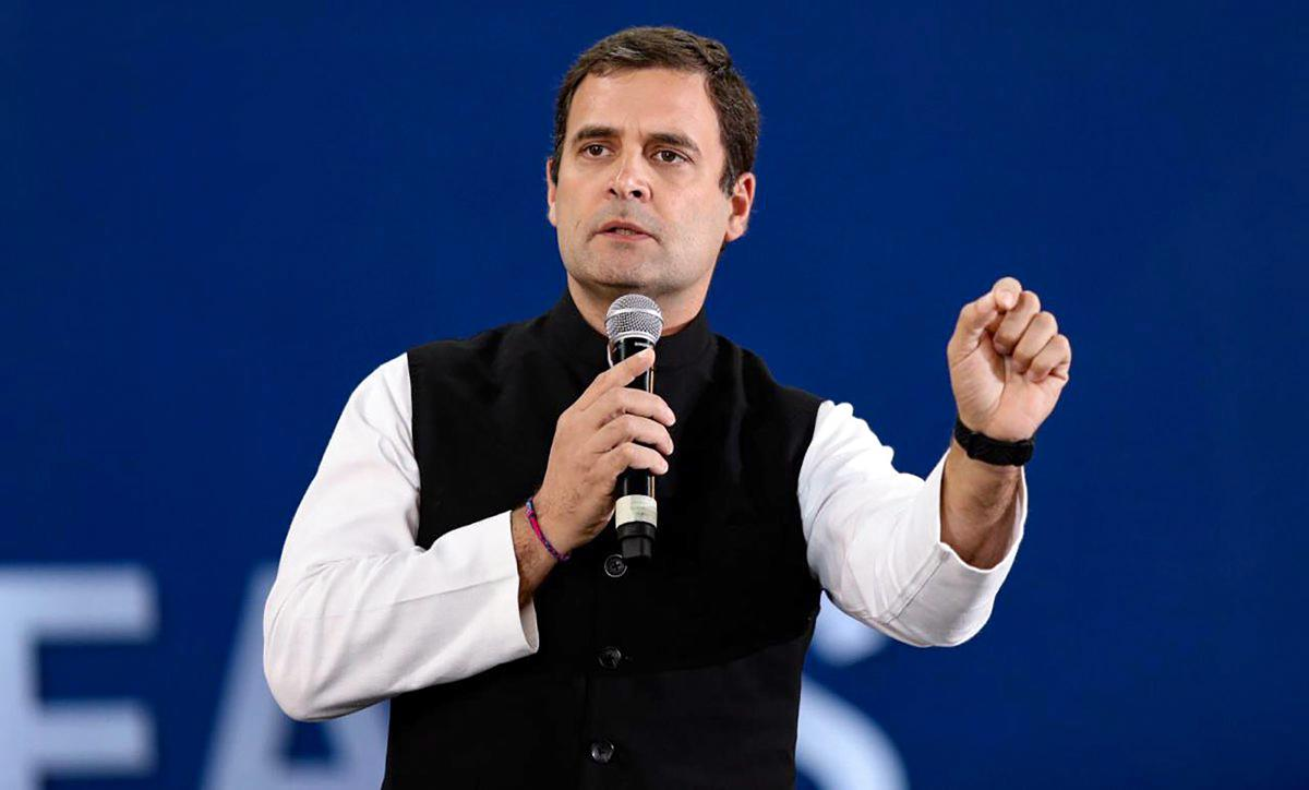 Except for Rahul Gandhi's outreach programme, the exercise of consultations for the manifesto is expected to be completed by February 1. PTI file photo