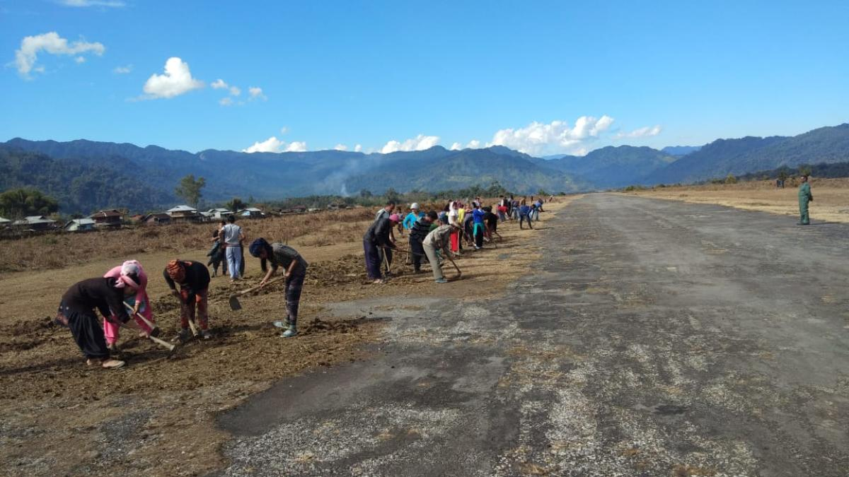Vijaynagar, having a population of a little over 4,000, is situated in Southeastern part of Arunachal Pradesh's Changlang district. Since there is no motorable road yet, villagers either walk 175-km to Miao town bordering Assam or depend on IAF service.
