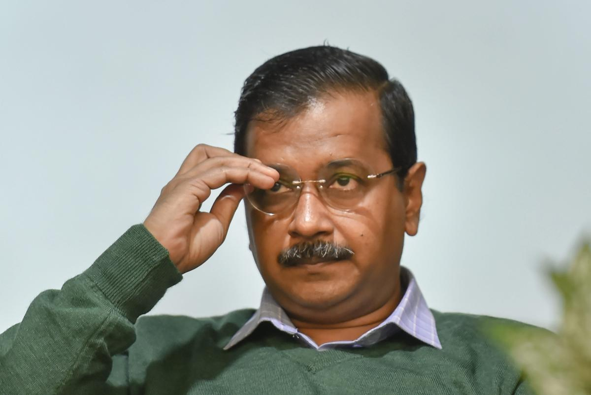Delhi Chief Minister Arvind Kejriwal. PTI Photo